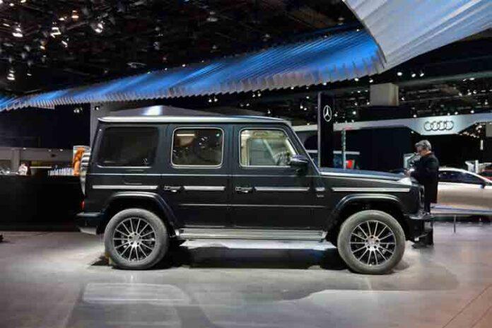 El Mercedes-Benz G-Wagen eléctrico señala el futuro EQ