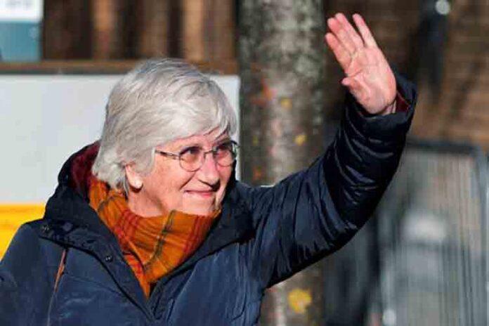 El juez de Edimburgo deja en libertad provisional a Clara Ponsatí