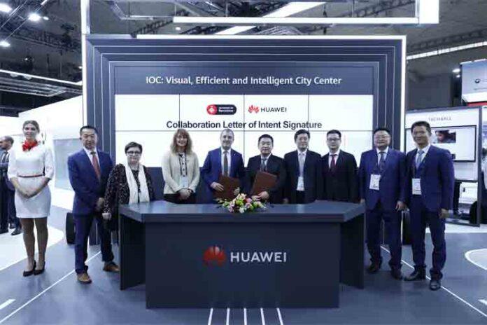 Huawei apuesta por Barcelona en sus planes de futuro empresarial