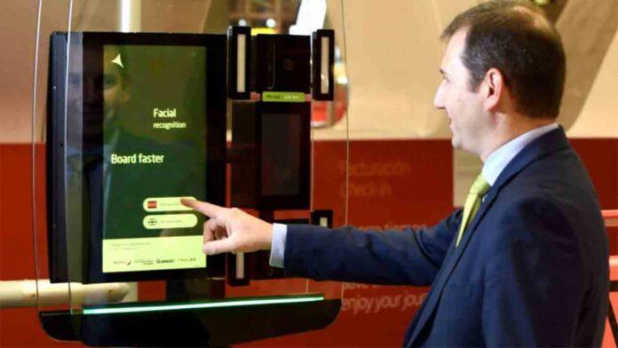 Iberia forma parte del proyecto de reconocimiento facial biométrico