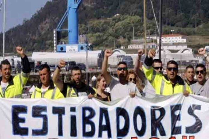 Los estibadores volverán a la huelga el 25 de noviembre