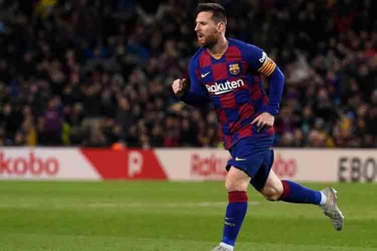 Messi iguala el récord de Ronaldo y el Barça vuelve a la cumbre de la Liga