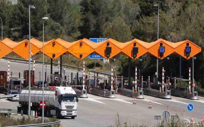 Tres peajes de autopista de Catalunya pasarán a ser gratuitos