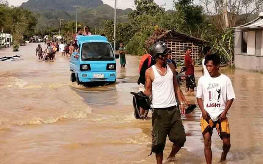 47 muertos tras el paso del tifón Phanfone por Filipinas