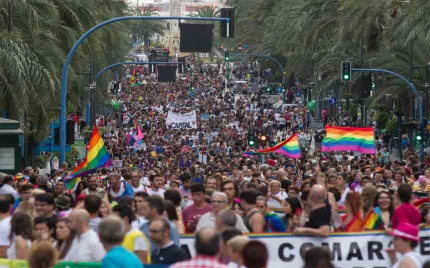 Alicante presentará en Fitur el primer mapa LGTBI en la ciudad
