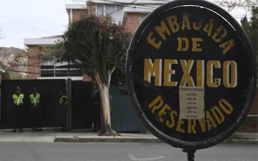 Bolivia declara personas no gratas a 2 diplomáticos de España y a la embajadora de México