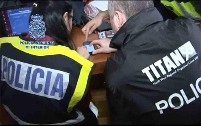 Detenidas 61 personas en un operativo internacional contra las mulas de dinero