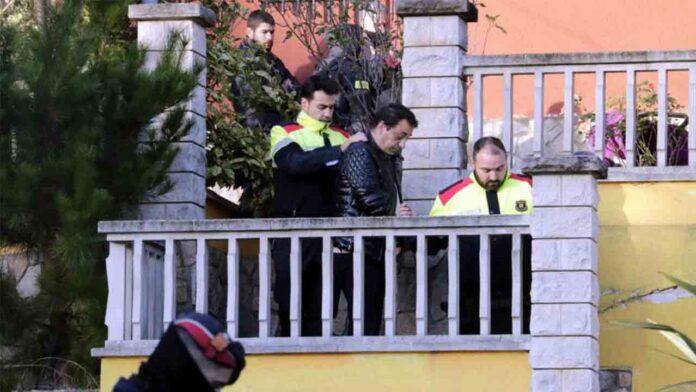 Detenidos 5 hombres por un tiroteo en Vidreres (Girona)