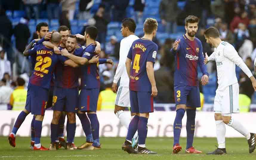 El clásico Barça Madrid se juega hoy miércoles en el Camp Nou