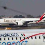 Emirates consigue su primer vuelo a México con escala en Barcelona