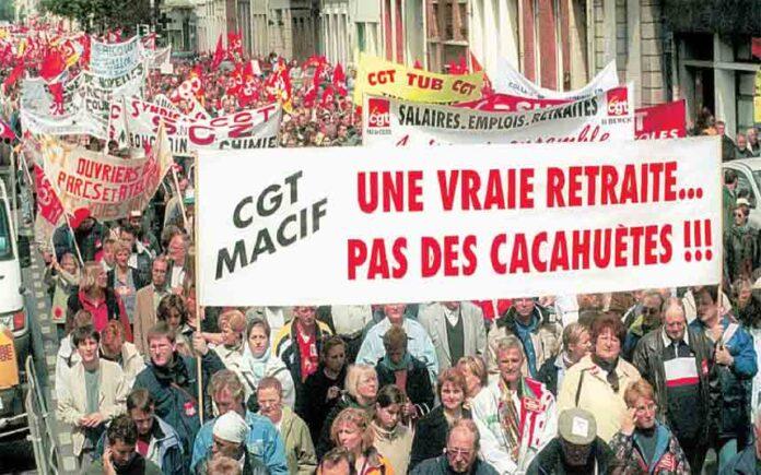 Francia se paraliza contra la reforma de las pensiones