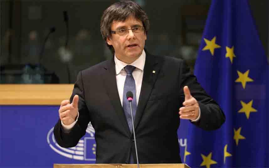 La fiscalía del Supremo tiene dudas sobre la obligación de la ley electoral respecto a Puigdemont