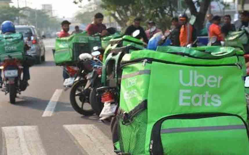 Los Riders de México unen sus fuerzas contra la precariedad de Uber Eats