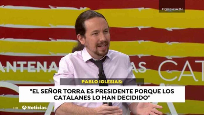 Ataque inédito del poder judicial español contra Pablo Iglesias