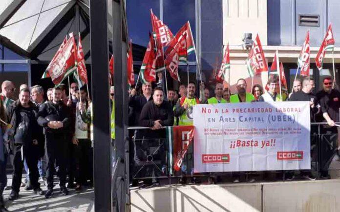 Denuncia por cesión ilegal de trabajadores a la operadora de Uber en Sevilla