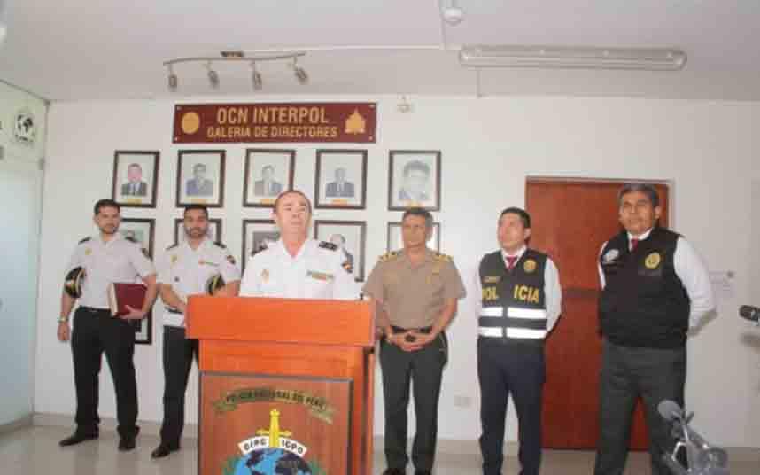Detenidos en Perú 20 fugitivos reclamados por España