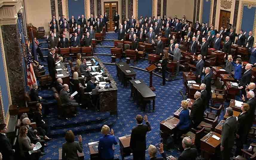 El Senado de EE.UU. comienza con el juicio político contra Trump
