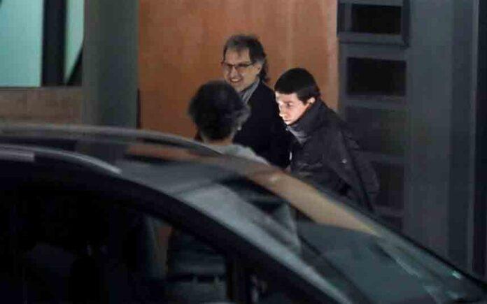 Jordi Cuixart sale de prisión con el primer permiso penitenciario