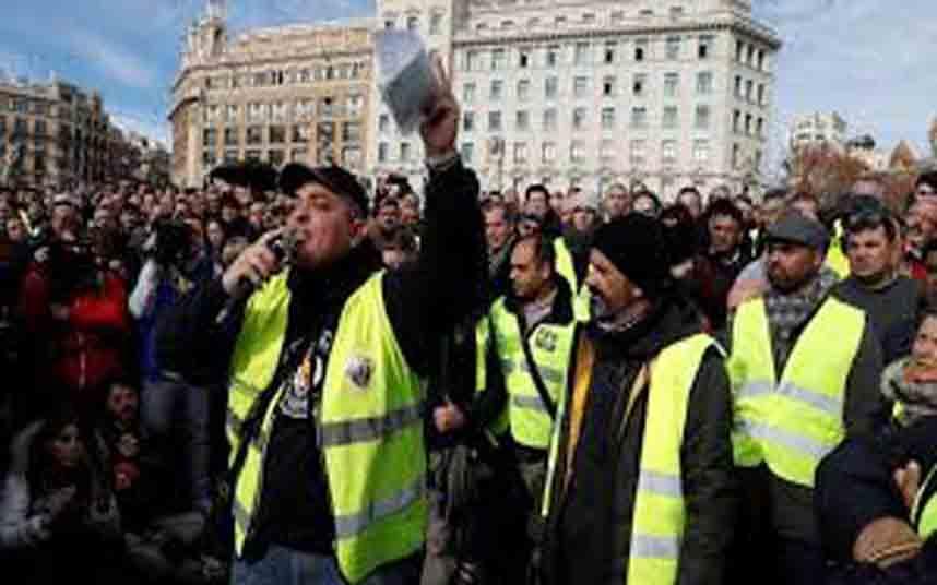 La Generalitat multa a Tito Álvarez con 8000 euros por las huelgas del pasado año