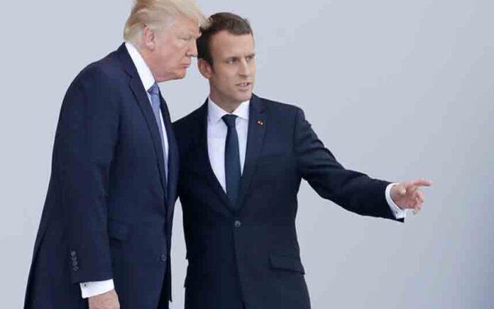 Macron y Trump pactan una tregua arancelaria que enfría aún más la tasa Google