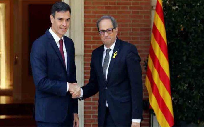Pedro Sánchez llevará a cabo la mesa de negociación con Catalunya antes de las elecciones