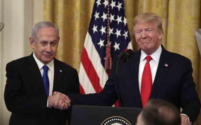 Trump presenta su bellaco plan de paz para resolver el conflicto árabe-israelí