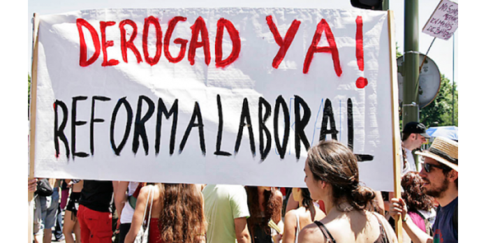 Apoya el manifiesto en defensa del trabajo digno Por la plena derogación de la reforma laboral 3/2012 del gobierno de Mariano Rajoy