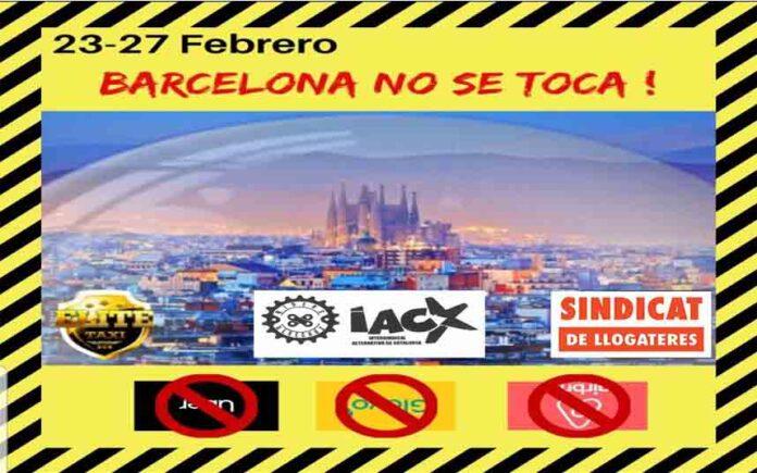 La plataformas activistas de Barcelona se movilizan contra el Tech Spirit