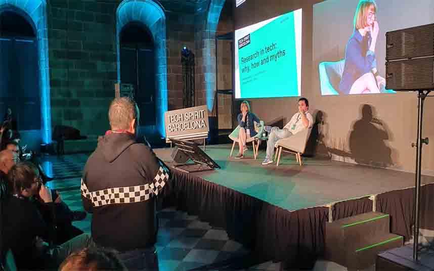 Tito Álvarez interpela al representante de Cabify en el Tech Spirit Barcelona