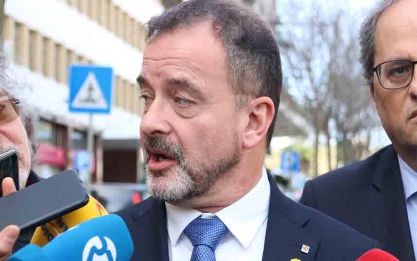 Destituyen al jefe de gabinete del conseller Bosch por denuncias de acoso sexual