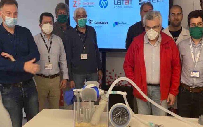 El primer respirador 3D fabricado de urgencia ya está homologado