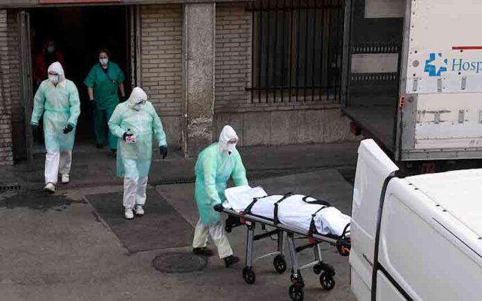 España supera a China con 3434 muertes por coronavirus