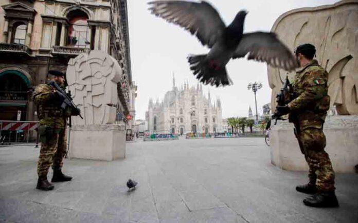 Italia ordena para toda actividad de producción no esencial por el coronavirus