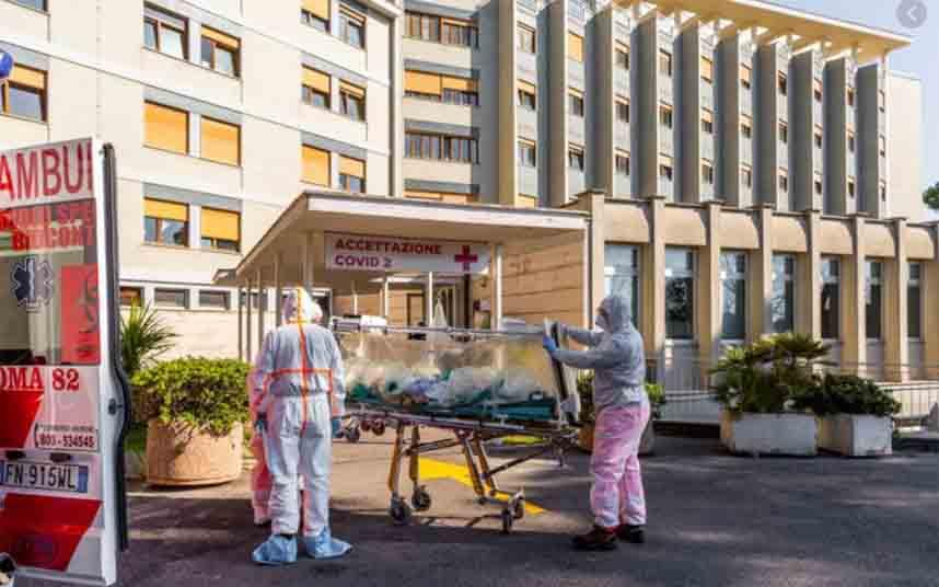 Italia tiene 9000 muertes por coronavirus, 969 en las últimas 24 horas