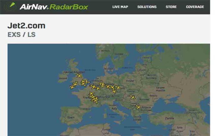 La aerolínea Jet2 cancela todos los vuelos a España con efecto inmediato