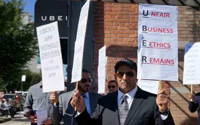 Los conductores de Uber y Lyft en California presentan demandas para que sean clasificados como empleados