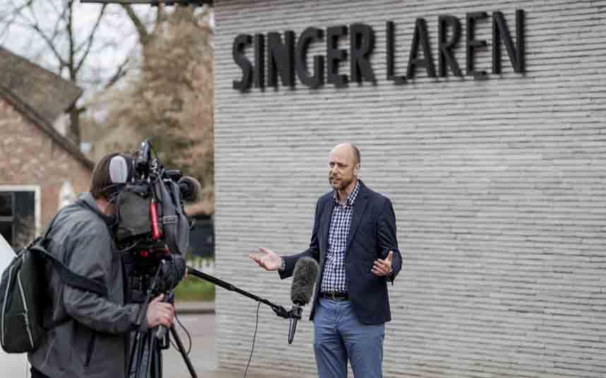 Roban un Van Gogh por la noche en el museo Singer Laren de Amsterdam