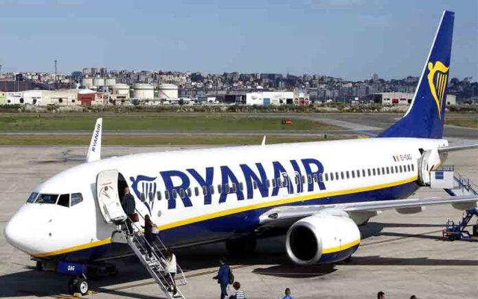 Ryanair reduce severamente los vuelos a España para combatir la propagación del COVID-19