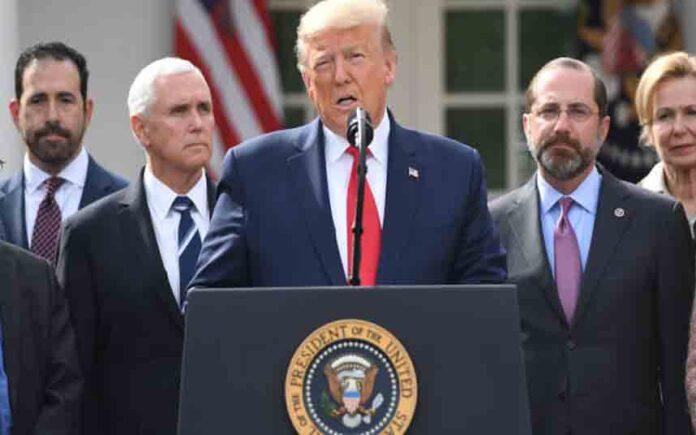 Trump declara la emergencia nacional en Estados Unidos