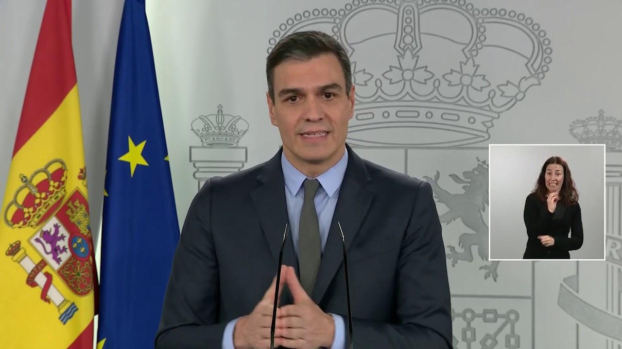 El presidente del Gobierno, Pedro Sánchez, pide a la UE estar a la altura