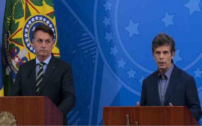Bolsonaro despide al Ministro de Sanidad y pretende abrir la economía de Brasil