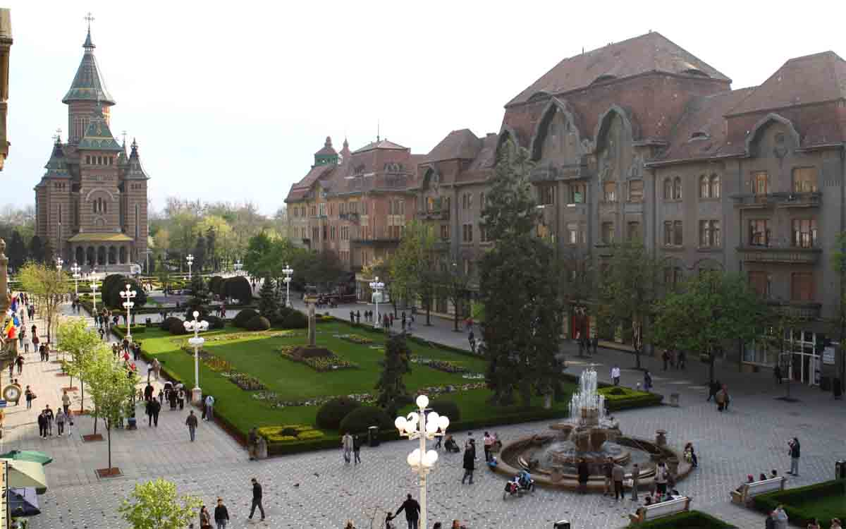 Nos adentramos en la ciudad mágica de Timișoara
