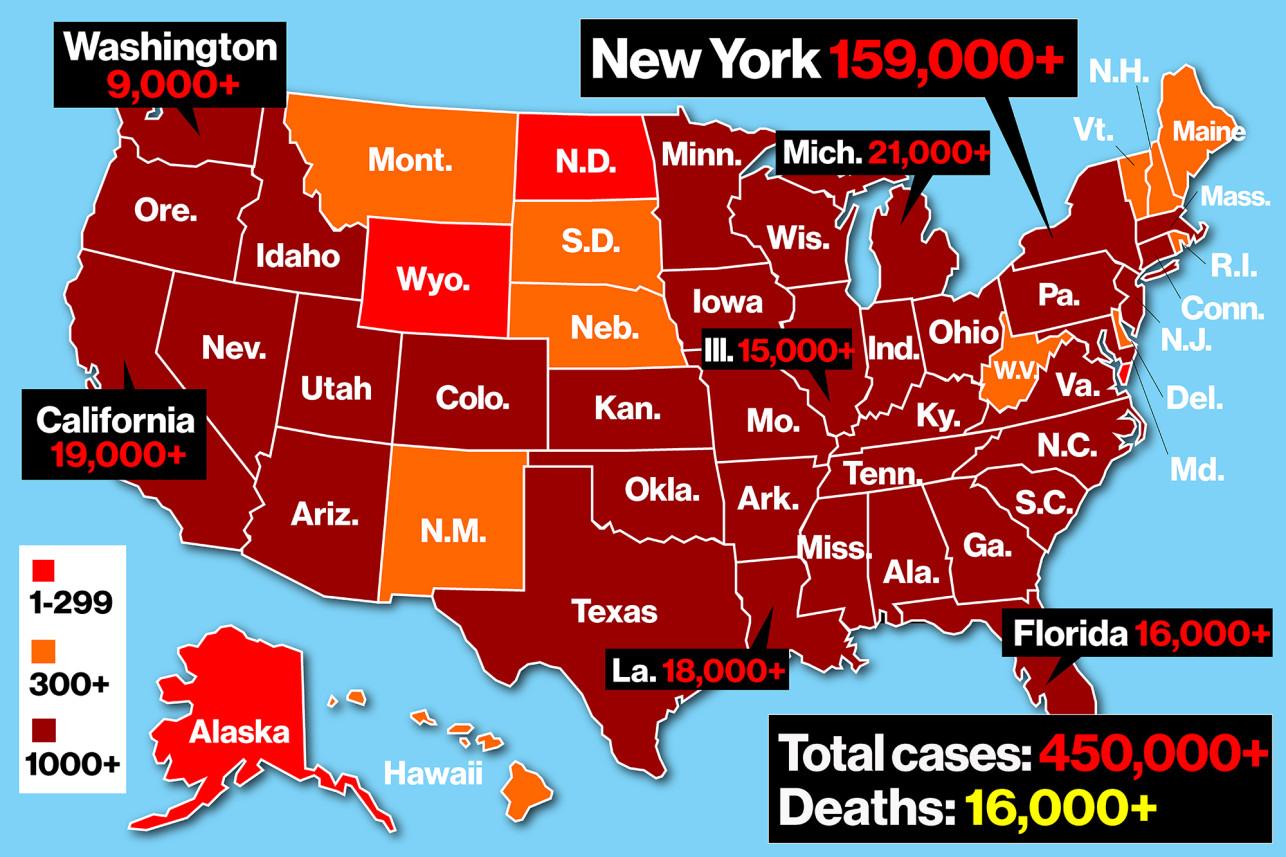 Nueva York es ahora la capital mundial del coronavirus