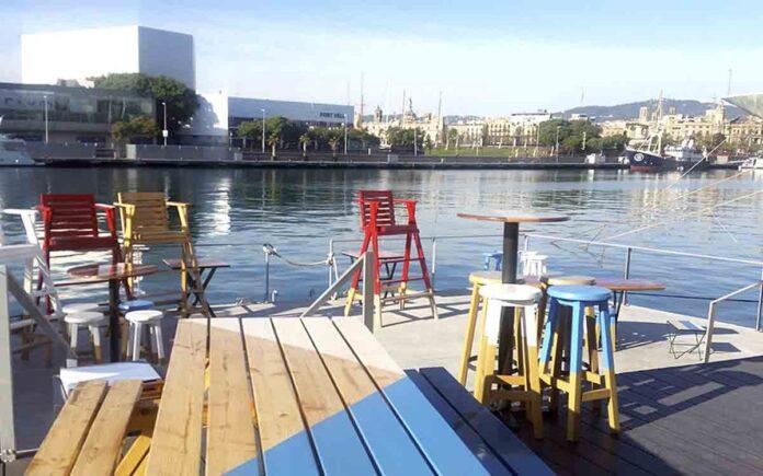 El Port de Barcelona rebaja la tasa de terrazas y amplía el espacio de restauración