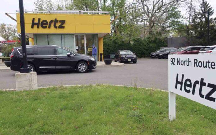 La empresa de alquiler de vehículos Hertz, se declara en quiebra en EEUU