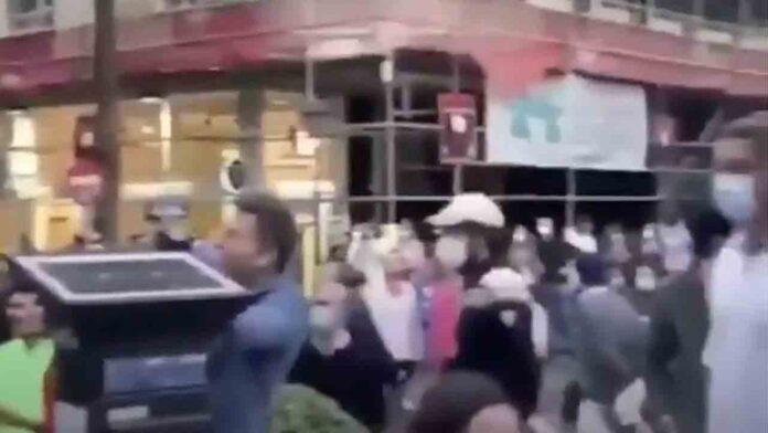 La ultraderecha se salta el confinamiento y se manifiestan en Madrid