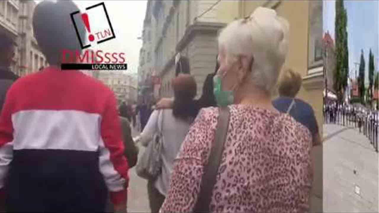 Miles de bosnios se manifiestan en Sarajevo contra una misa pro aliados nazis
