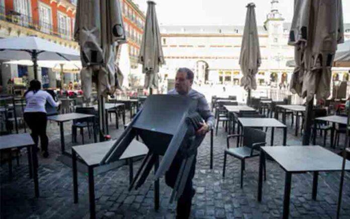 Madrid decide hoy jueves las medidas a adoptar respecto a las terrazas de los bares