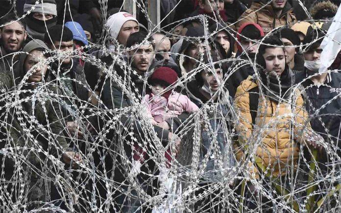 Las concertinas sangrientas de los países europeos para evitar a los refugiados