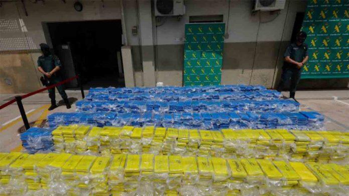 3.800 kilos de cocaína incautados en el puerto de Valencia